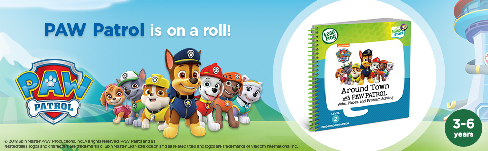 LeapStart 3D PAW Patrol is on a Roll Book