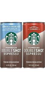 starbucks doubleshot espresso coffee