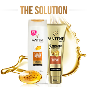 Pantene, panteen, shampoo, conditioner, shampoos, conditioners, 3 minute miracle