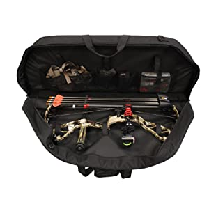 SAS Double Bow Case with Fully Loaded Bow