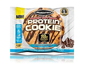 Chocolate Chip Protein Cookie, Whey Protein Cookie, Protein Cookie, Protein