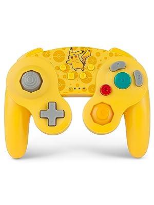 PowerA - Mando inalámbrico para Nintendo Switch GameCube. Estilo GameCube Oro (Nintendo Switch): Amazon.es: Videojuegos