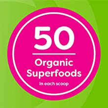 50 organic superfoods in each scoop