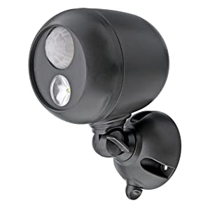 battery powered spotlight outdoor, led motion, security light, wireless outdoor light, led spotlight