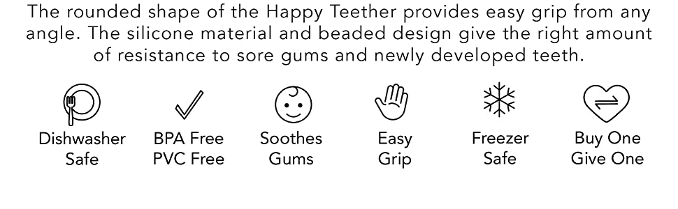 dishwasher safe, BPA free, PVC free, soothes, gums, easy grip, freezer safe, teether, baby, toys