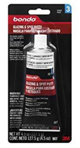 3M 1 Bondo 907 Glazing and Spot Putty - 4 5 oz