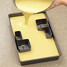 Wilton Non Stick Alphabet Letters And Numbers Cake Pan