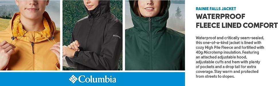 Columbia Women's Rainie Falls rain jacket