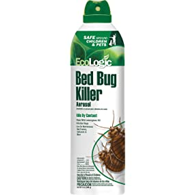 Amazon.com : EcoLogic Bed Bug Killer Aerosol, with ...