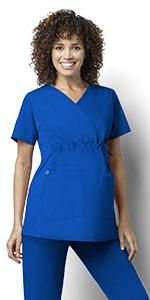 Stretch, WonderWink, Scrubs, Hospital, Uniforms, Tops, Maternity