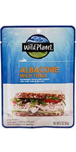 tuna, albacore, skipjack