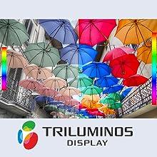 TRILUMINOS™ Display: Extra colours, extra brilliance