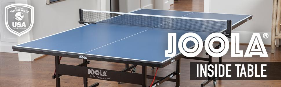 Amazon Com Joola Inside 15mm Table Tennis Table With Net