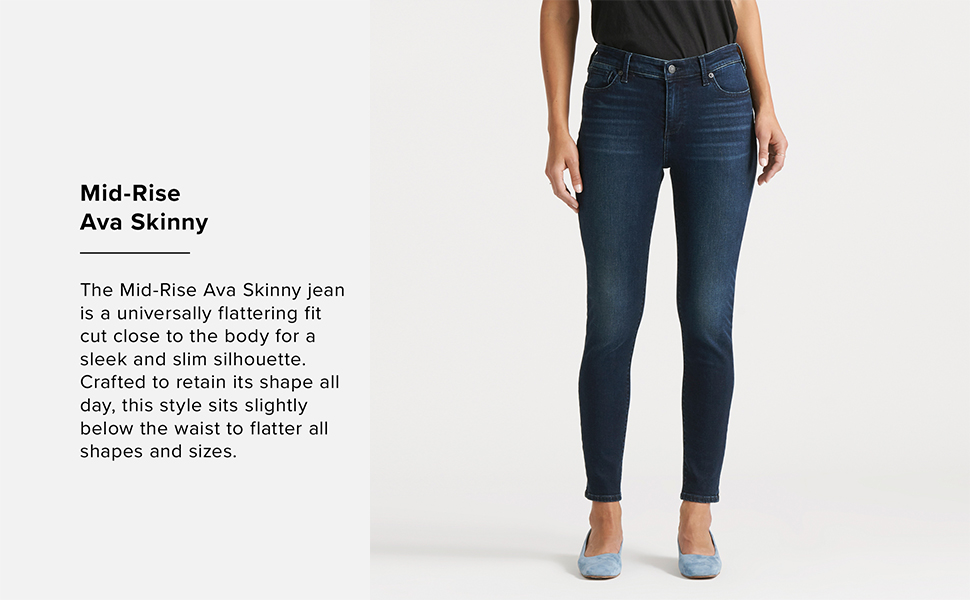 Mid-Rise Ava Skinny, lucky brand jeans for women, lucky jeans women, lucky brand jeans women