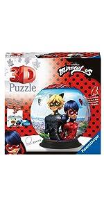 puzzle 3d miraculous ravensburger rond
