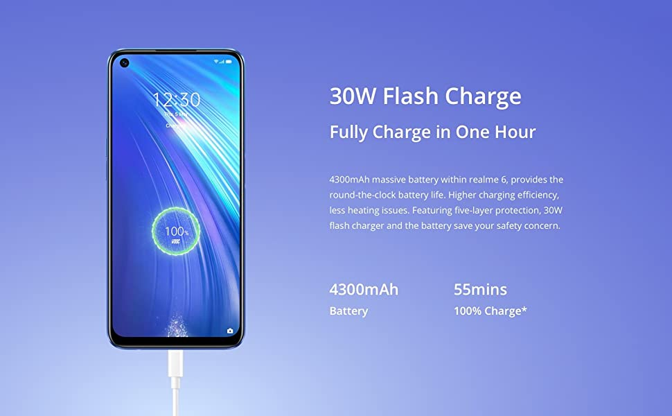 30W, Flash, Charge, VOOC