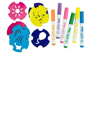 Doodle Bear The Original Washable Marker Set with Stencils