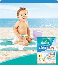 Pampers Baby-Dry Windeln Luftkanäle für atmungsaktive Trockenheit