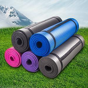 Bojing Yoga Mat Exercise Mat 2/5