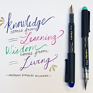 Varsity - Knowledge Comes From Learning Wisdom Comes From Living