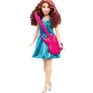 Barbie Cantante con guitarra rosa