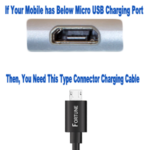 Samsung charging port type and charging connector