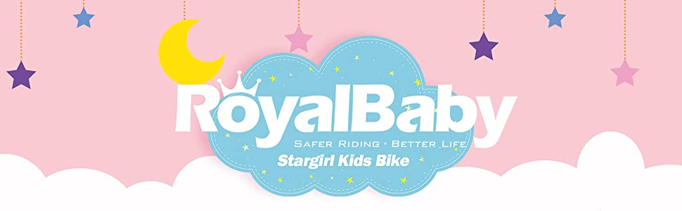royalbaby company logo girls bike