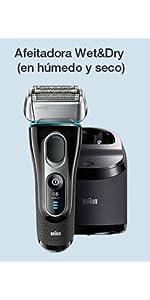 Braun Series 5 WaterFlex WF2s - Afeitadora eléctrica para hombre ...