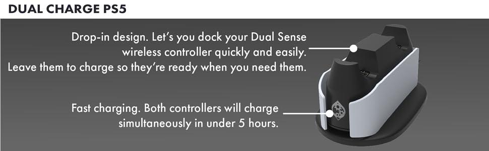 DualSense charger