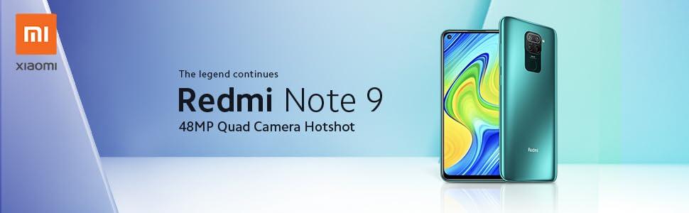 Xiaomi Redmi Note 9 - Smartphone con Pantalla FHD+ de 6.53 ...