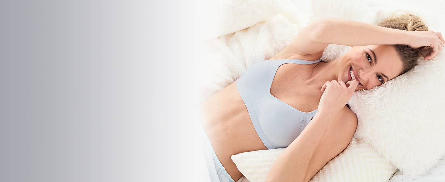 Easy Does It No Bulge Wire-Free Bra
