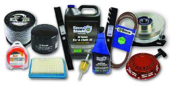 stens, lawn mower, blades, belts