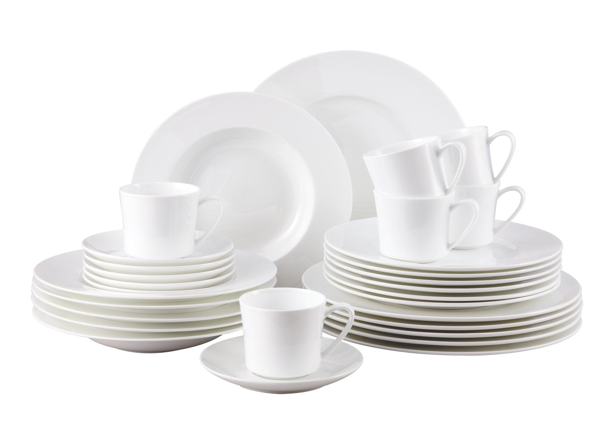 Rosenthal 61040 800001 18743 Jade Weiß 30 Teiliges Fine Bone China