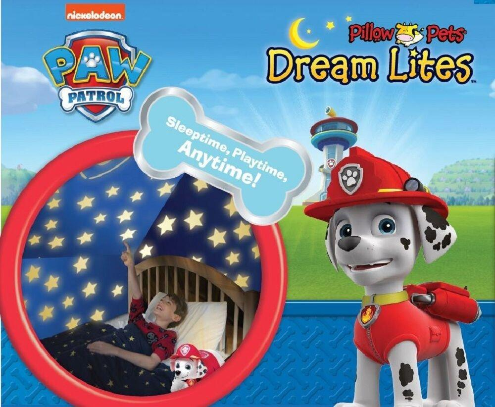 Pillow Pets Marshall Dream Lites Stuffed Animal Plush Toy