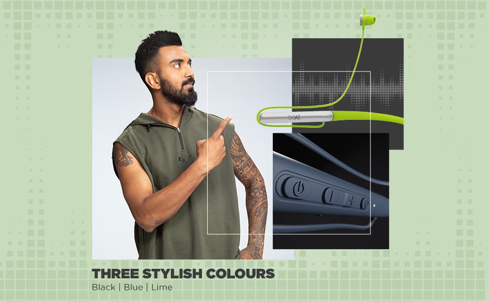 3 stylish colors