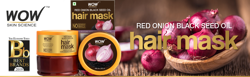 Red Onion Black Seed Oil Hair Mask