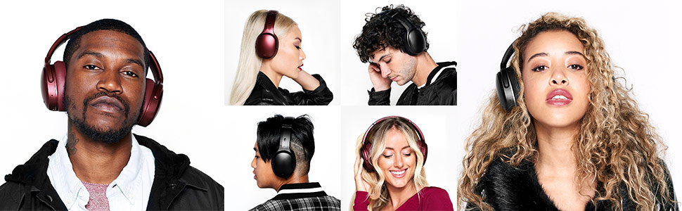 Crusher ANC Personalized Noise Canceling Wireless Headphones on Models