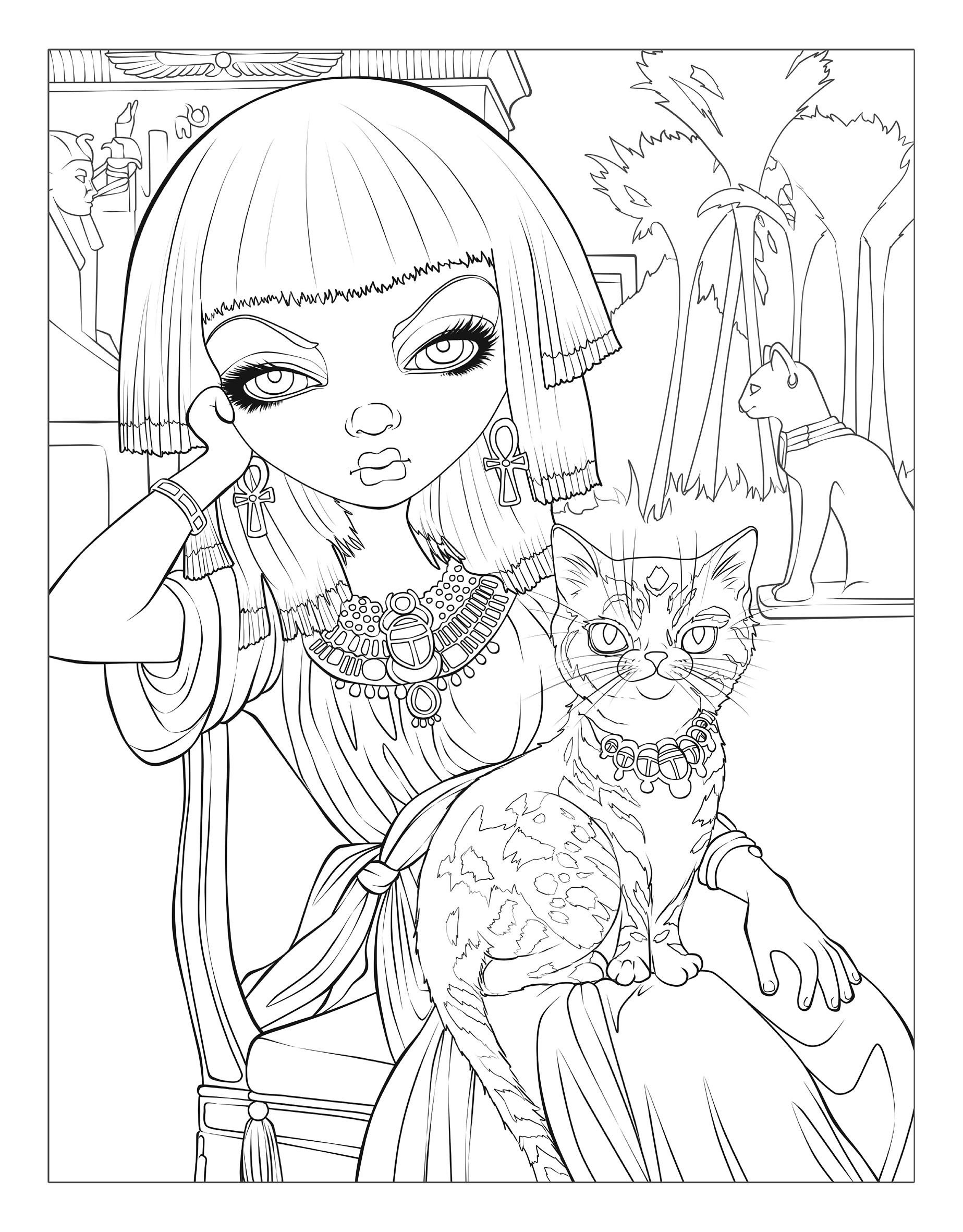 jasmine becket griffith coloring pages Amazon.com: Jasmine Becket Griffith Coloring Book: A Fantasy Art  jasmine becket griffith coloring pages
