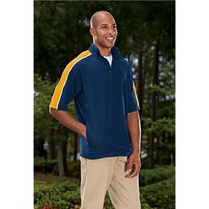 short sleeve windbreaker baseball coaches casual wear