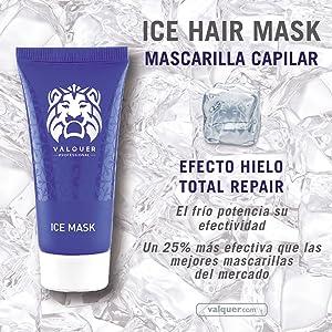 Mascarilla capilar efecto hielo: 0% sulfatos