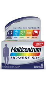 Multicentrum Adulto Complemento Alimenticio con 13 Vitaminas y 11 Minerales, Con Vitamina B1, Vitamina B6, Vitamina B12, Hierro, Vitamina D, Vitamina C, 30 Comprimidos: Amazon.es: Salud y cuidado personal