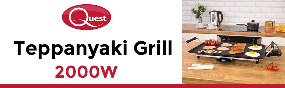 Quest Teppanyaki Grill 2000W