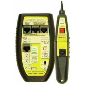 test, verify, repair base-t network lines