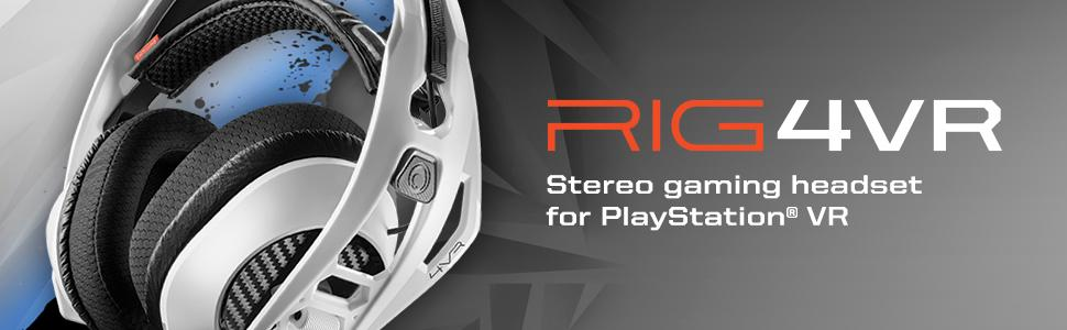 Plantronics RIG 4VR Gaming Headset for PS4 and PSVR