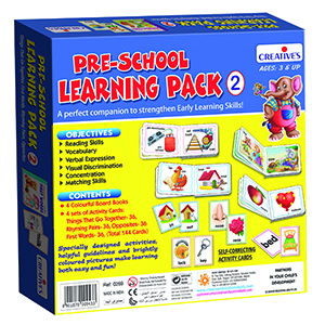 pre school learning pack 2