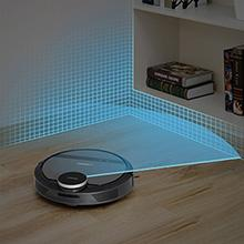 ECOVACS DEEBOT 900/901 Smart Robotic Vacuum virtual mapping