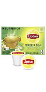 """Lipton K-Cup Green Tea K-Cups Soothe Green tea 12 ct """