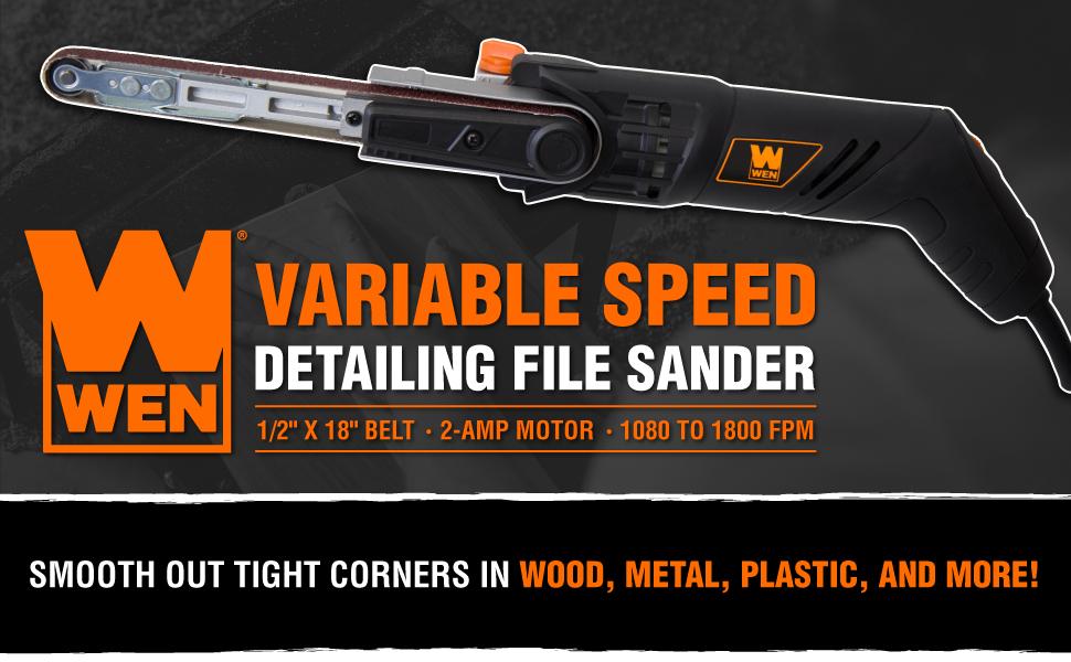 WEN 6307 Detailing File Sander