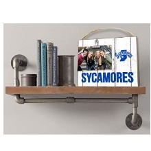 Indiana State Sycamores Clip It Weathered Logo College Photo Frame
