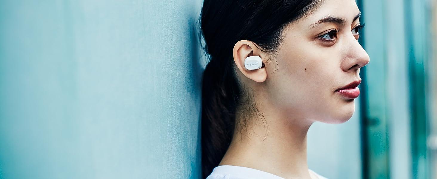 Pioneer C5 True Wireless Kopfhörer Weiß Elektronik